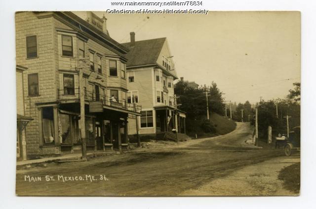 Wills Block boarding house, Ridlonville, ca. 1905