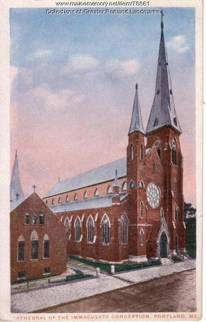 Cathedral of the Immaculate Conception, Portland, ca. 1917