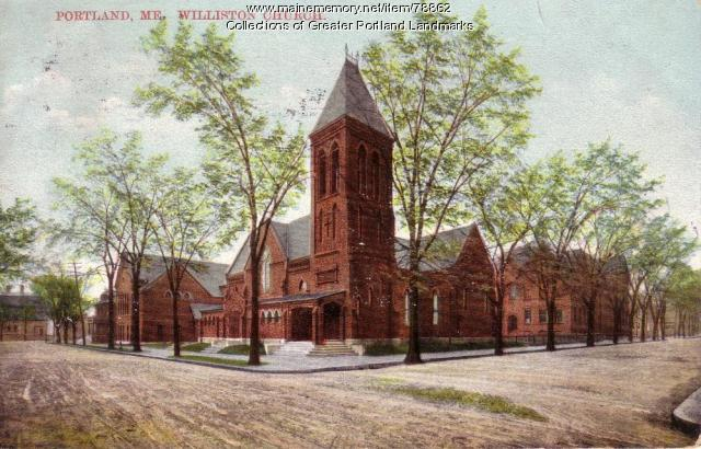 Williston Church, Portland, ca. 1908