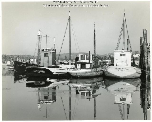 Sardine Carriers, Mount Desert Island, ca. 1940