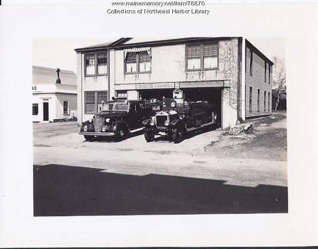 Northeast Harbor Firehouse, ca. 1930
