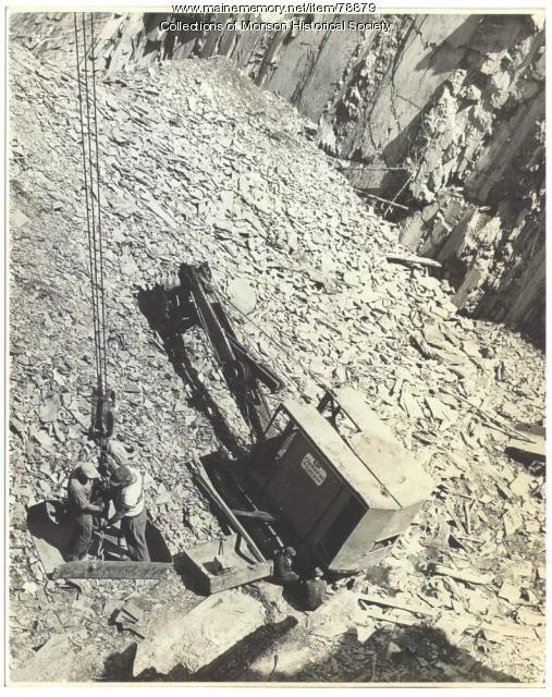 Barnard Quarry, 1951