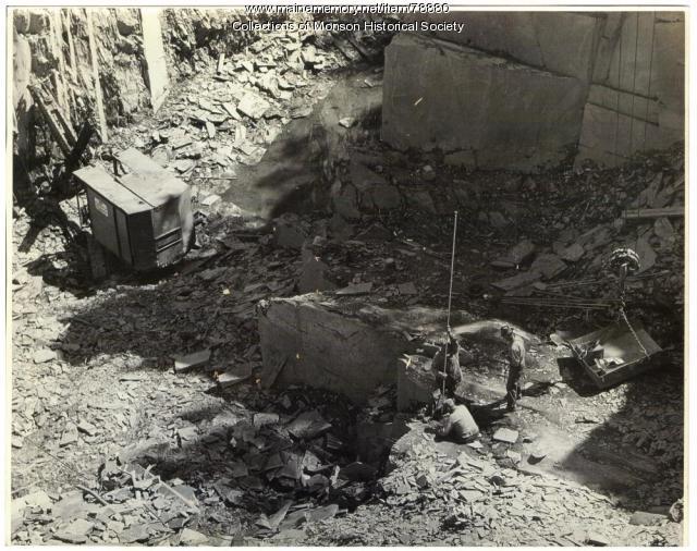 Barnard Quarry, Barnard, 1951