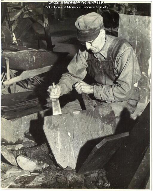 Slate Splitter, Barnard, 1951