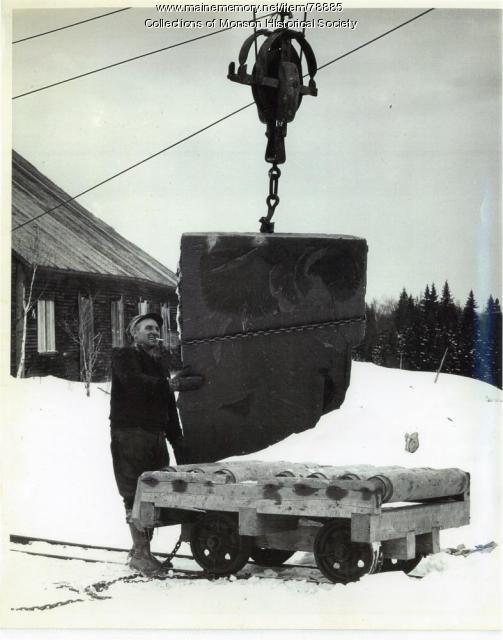 Moving Slate, Barnard, 1951