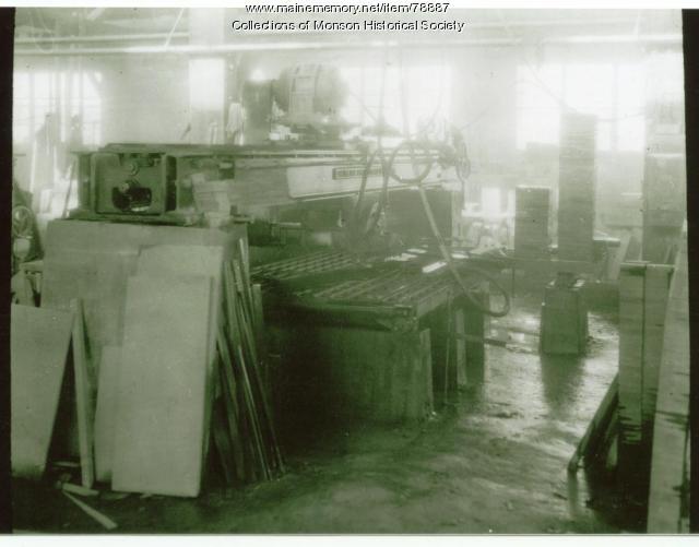 Quarry Machinery, Monson, ca. 1930
