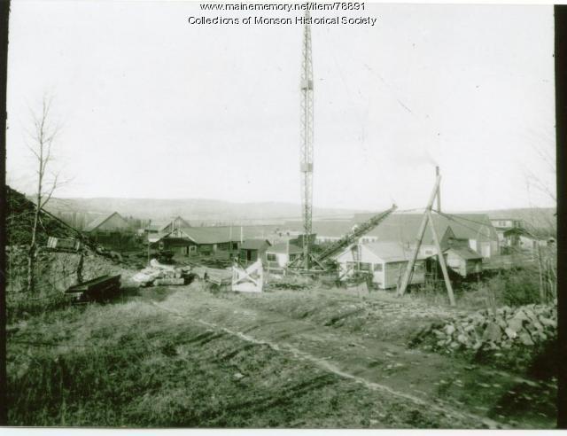 Monson-Maine Slate Company, Monson, ca. 1920