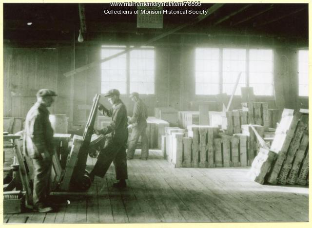 Slate Company Warehouse, Monson, ca. 1910