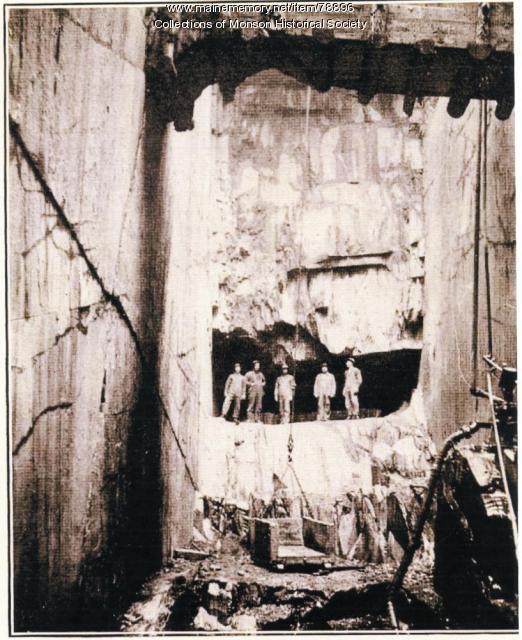 Portland-Monson Slate Company, ca. 1890