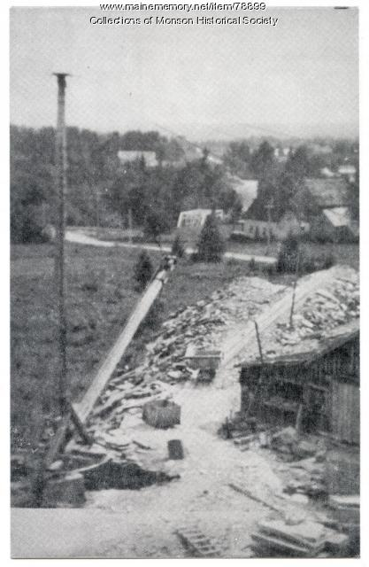 Leighton's Quarry, Willimantic, ca. 1940