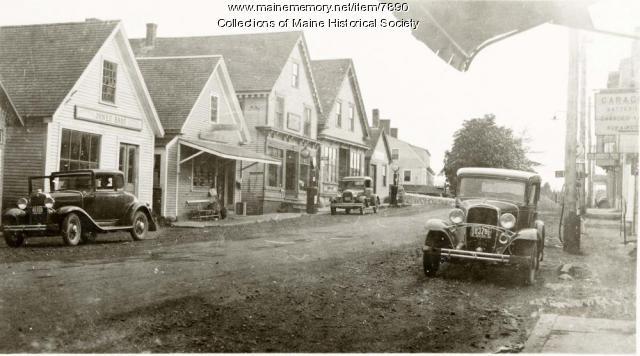 Deer Isle village, ca. 1935