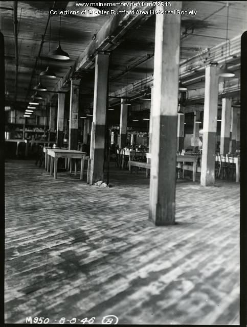 Bag Mill bachelor housing, Rumford, 1946