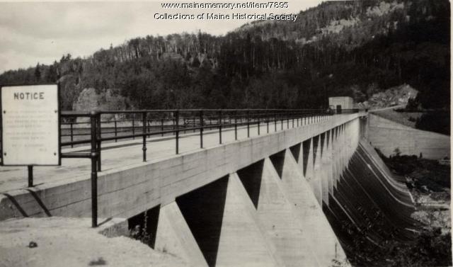 Ripogenus Dam, ca. 1920