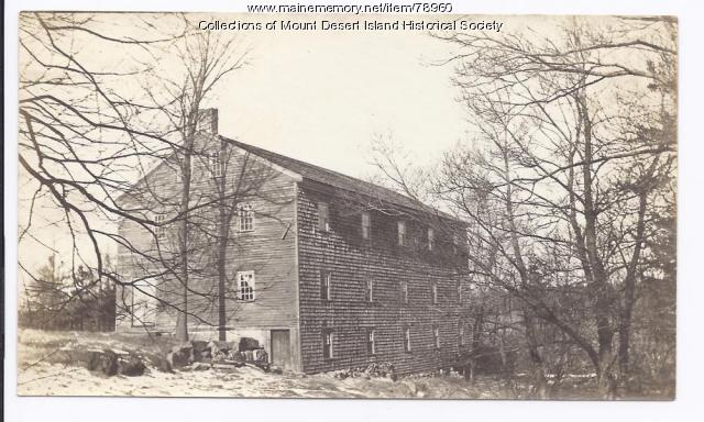 Woolen Mill, Somesville, ca. 1850