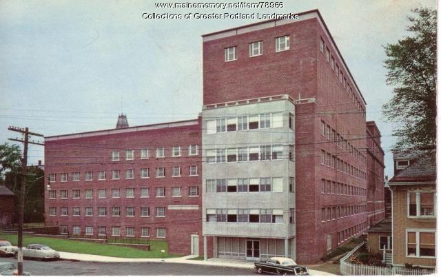 Maine Medical Center, Portland, ca. 1950