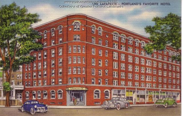 The Lafayette Hotel, Portland, ca. 1950