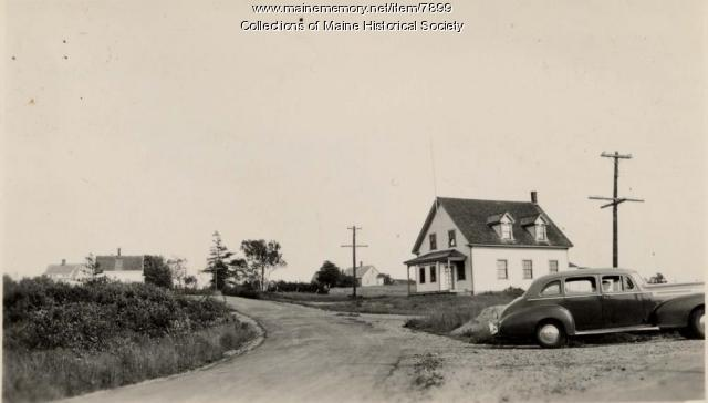 Burnt Cove School, Stonington, ca. 1940