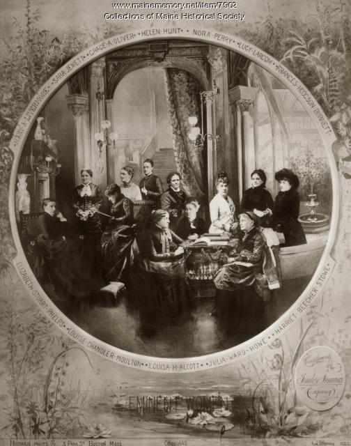 Eminent Women, 1884