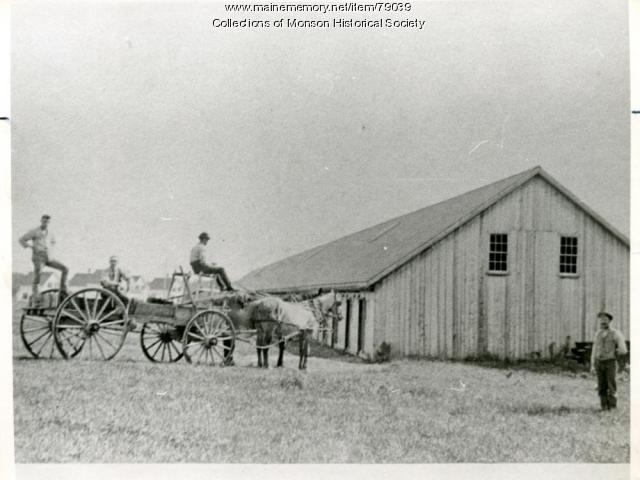 Long Slate Shed, Monson, ca. 1890