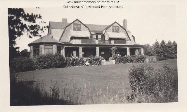 Scull Cottage, Northeast Harbor, ca. 1900