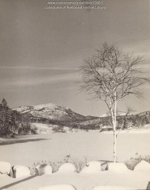 Little Long Pond, Seal Harbor, ca. 1940