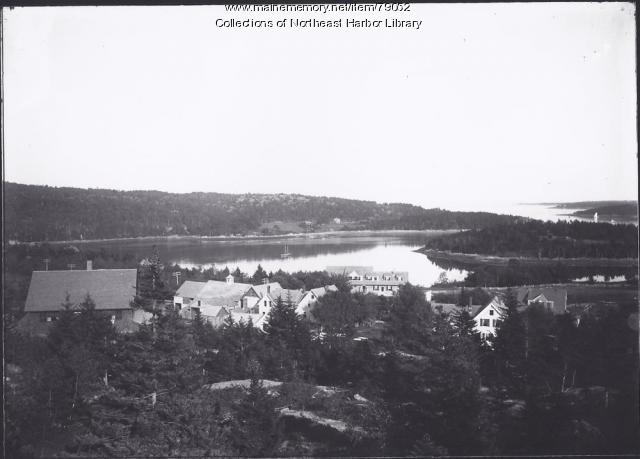 Northeast Harbor from Schoolhouse Ledge, ca. 1976