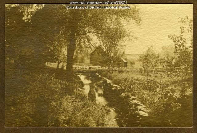 East Dixfield Village Farm, Wilton side, ca. 1890