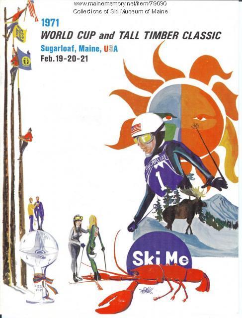 World Cup Program Cover, Sugarloaf, 1971