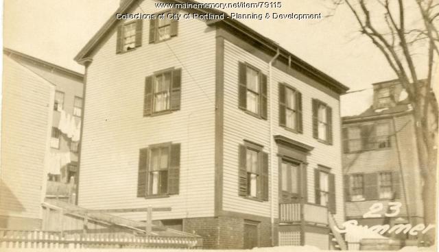 25 Summer Street, Portland, 1924
