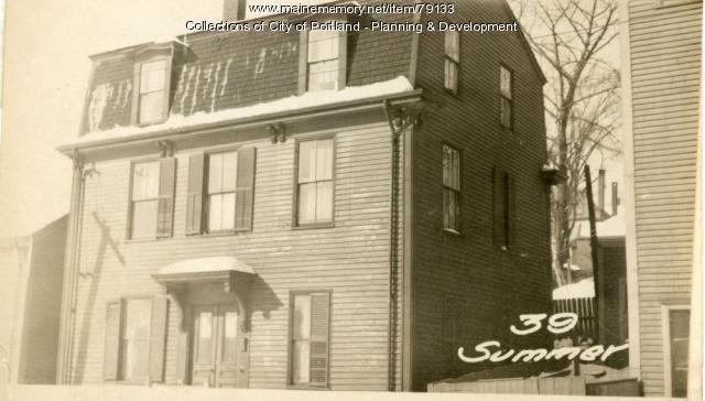 37 Summer Street, Portland, 1924