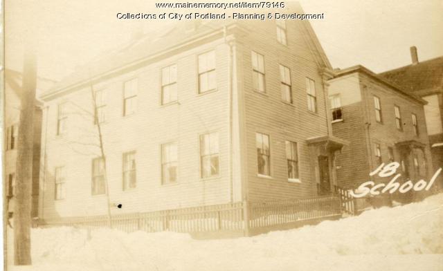16 School Street, Portland, 1924