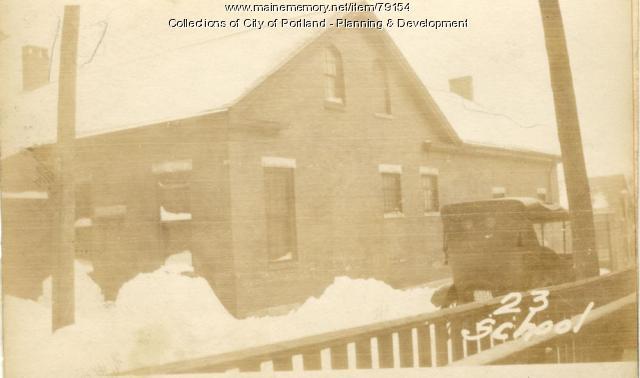 15-23 School Street, Portland, 1924