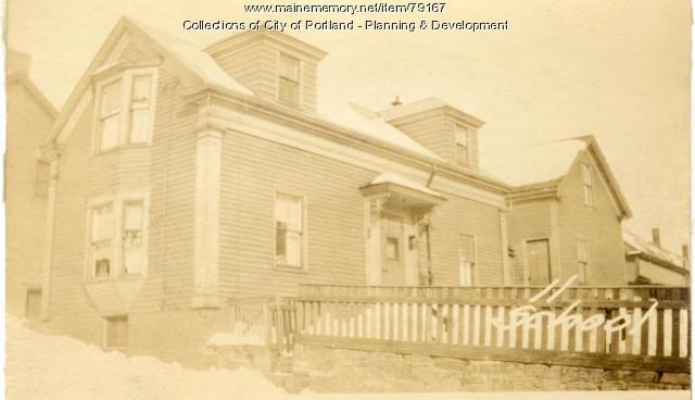 11-13 School Street, Portland, 1924