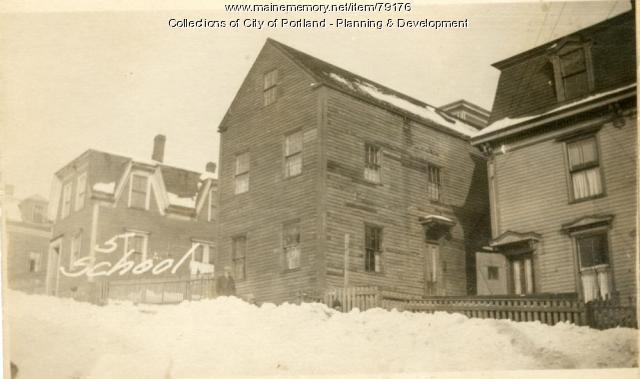 5 School Street, Portland, 1924
