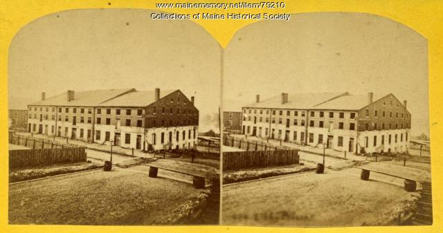 View of Libby Prison, Richmond, Virginia, ca. 1863