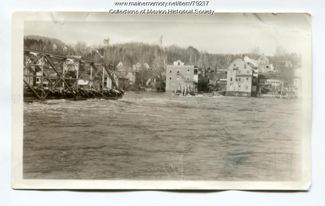 The Flood of 1936, Ridlonville to Rumford bridge