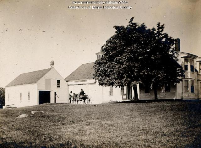 Dunning homestead, Harpswell, July 1896