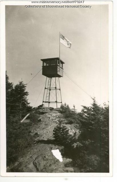 Big Squaw Mountain Fire Tower, Greenville, ca. 1930