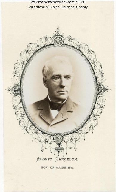 Alonzo Garcelon, Lewiston, ca. 1879