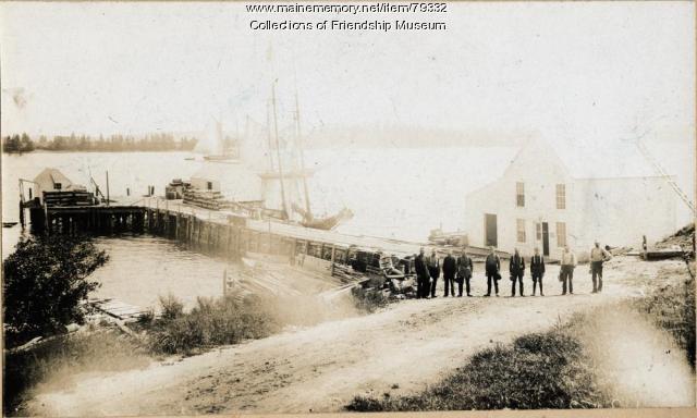 The Jameson & Wotton Wharf, ca. 1900