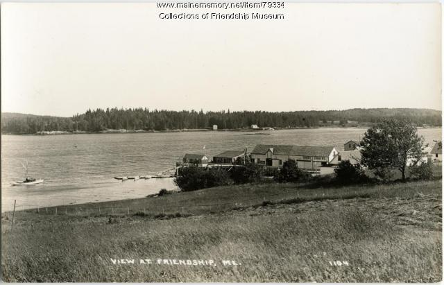 View at Friendship, ca. 1940
