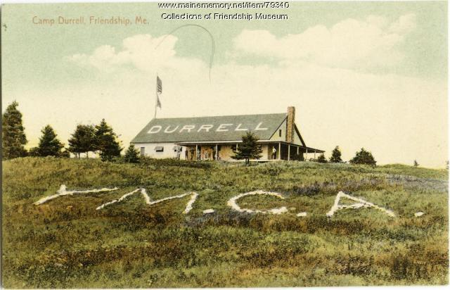 The lawn of Camp Durrell, ca. 1907