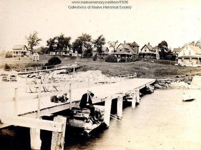 Waites Landing, Falmouth Foreside, ca. 1895