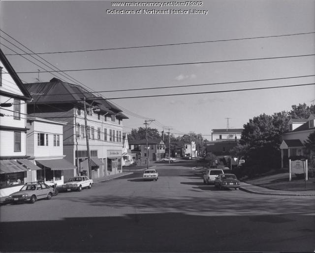 Main Street in Northeast Harbor ca. 1980