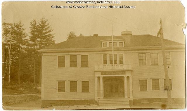 Pettengill School, Rumford, ca. 1900