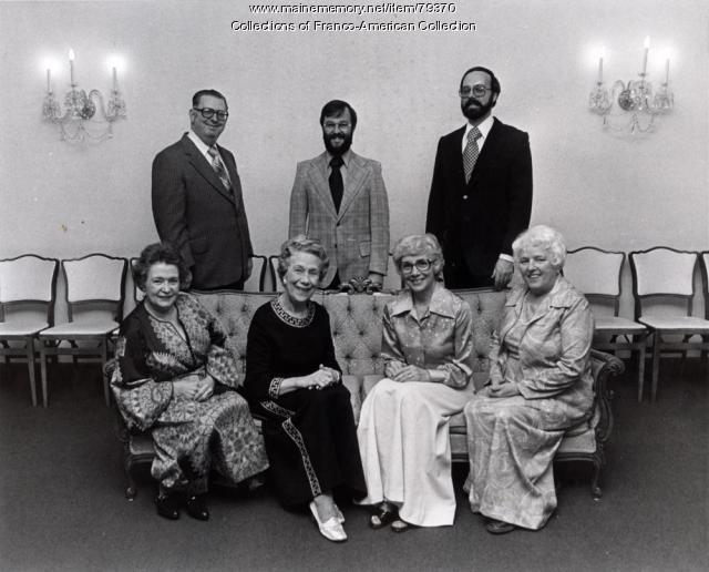 Trustees of the Centre d'Héritage Franco-Américain, ca. 1972