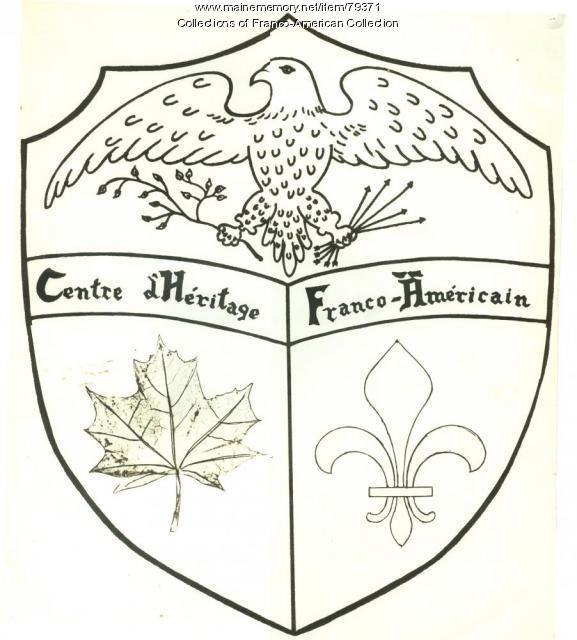 Logo, Centre d'Héritage Franco-Américain, 1972
