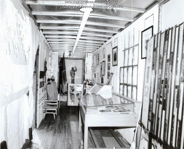 Centre d'Héritage Franco-Américain, Lewiston, ca. 1977