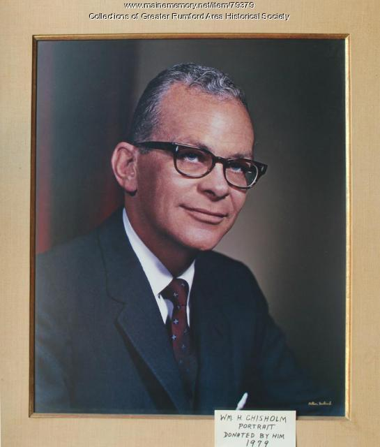 William Chisholm Ca. 1979