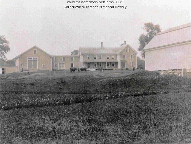 Cream Brook Farm, Stetson, ca. 1907